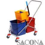 Xe vắt nước đôi - Dụng cụ vệ sinh công nghiệp Giá Rẻ