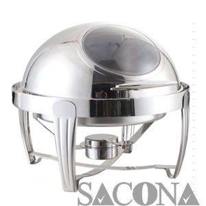 nồi buffet - Mã hàng : SNC520012 Kích thước: 470*470*450mm Dung tích : 6 L Chất liệu: thép không gỉ Độ dày khung: 2 mm Nhãn hiệu : Sacona