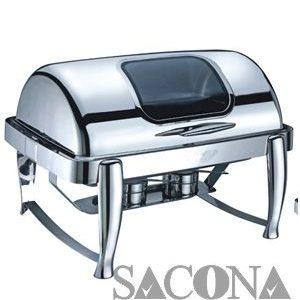nồi buffet - Mã hàng : SNC520023 Size/ Kích thước: 635*425*440mm Capacity/ Dung tích : 9 L Marterial/ Chất liệu: thép không gỉ Nhãn hiệu : Sacona SNC520023