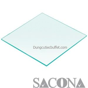 GLASS PLATTER/ ĐĨA THỦY TINH VUÔNG Model / Mã hàng : SNC520549