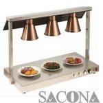 ĐÈN HÂM NÓNG THỨC ĂN 3 BÓNG Model / Mã hàng : SNC520819 Size / Kích thước: 1070*530*700 mm Materal / Chất liệu: Inox Brand / Nhãn hiệu : Sacona