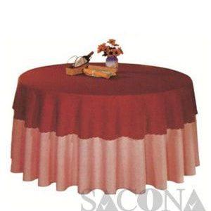 KHĂN TRẢI BÀN TRÒN Model / Mã: SNC683402 Brand / Nhãn hiệu : Sacona