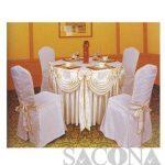KHĂN BÀN ÁO GHẾ Model / Mã: SNC683409 Brand / Nhãn hiệu : Sacona