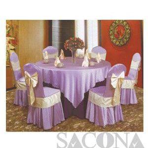 TABLECLOTH SHIRT SEAT / KHĂN BÀN ÁO GHẾ Model / Mã: SNC683410 Brand / Nhãn hiệu : Sacona