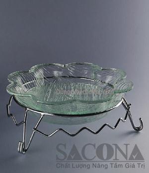 CHÂN ĐẾ DECOR MÓN ĂN Model / Mã hàng : SNC520575 Size/ Kích thước : (Ø) 30 Cm Materal / Chất liệu: Inox Brand / Nhãn hiệu : Sacona