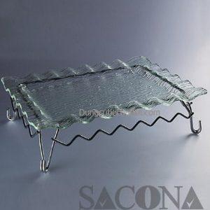 CHÂN ĐẾ DECOR MÓN ĂN Model / Mã hàng : SNC520577 Size/ Kích thước : 30 x 30 Cm Materal / Chất liệu: Inox Brand / Nhãn hiệu : Sacona