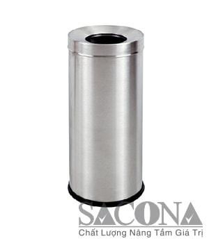 THÙNG RÁC INOX NẮP LỖ Model/ Mã: SNC682606