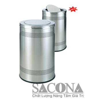 THÙNG RÁC INOX TRANG TRÍ Model/ Mã: SNC682607