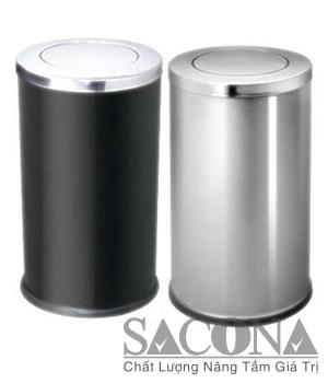 THÙNG RÁC INOX TRANG TRÍ Model/ Mã: SNC682610