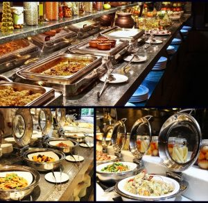 nồi buffet hâm thức ăn